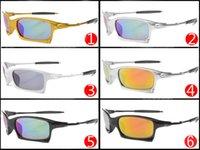 ingrosso nuovissima bicicletta-2017 brand new moda uomo bicicletta occhiali da sole in vetro occhiali sportivi occhiali da guida ciclismo 6 colori di buona qualità spedizione gratuita