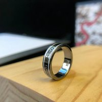 ingrosso disegno dei nuovi uomini dei monili-designer di gioielli anello CC per gli uomini donne Vintage lettera incisione nuovo anello CZ regalo anello paio di design di lusso