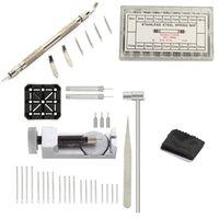 ingrosso 72 bande-Kit cinturino per cinturino, 106 in 1 levatore per collegamenti, attrezzo per barre a molla con pin extra 72 pin, pin a becco 20 pz, supporto 1 pz, testa a testa 1p