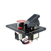 ateşleme panelleri toptan satış-Araba Oto Anahtarı Bölmesi Yarışları 12V Ateşleme kumandalı düğme Paneli Motor Başlat Düğmesi