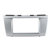 radio dvd para camry toyota al por mayor-Reinstalación del automóvil DVD Radio Panel Dash Fascia Audio Frame Kit 173 * 98mm para Toyota Camry Altis 2006-2011 Frame # 3261