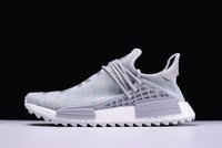 Wholesale mens trail running shoes for sale - Cheap Human Race Hu trail pharrell men running shoes Nerd black cream Holi mens trainers women designer sports runner sneakers size