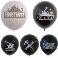 doğum günü çocuk malzemeleri toptan satış-12 inç Balon Festivali Doğum Günü Partisi Dekorasyon Tedarik Noel Cadılar Bayramı Balonlar Yılbaşı Dekoru Çocuk Oyuncakları Hediye