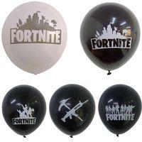 fontes da festa de anos dos miúdos venda por atacado-12 inch Balão Festival Decoração de Festa de Aniversário Abastecimento de Natal Balões de Halloween Xmas Decor Kids Brinquedos de Presente