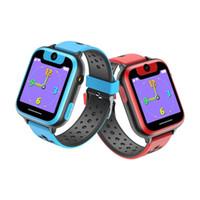 montres de filles cool achat en gros de-Montre intelligente de téléphone d'enfants avec des jeux de caméra Jouets frais d'écran tactile de montre intelligente pour les garçons garçons filles