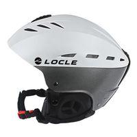 лыжный шлем l оптовых-Локль CE сертификации лыжный шлем дышащий сверхлегкий лыжный шлем ABS внешний снег лыжи сноуборд скейтборд M / L размер