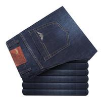 berühmte marke italien jeans großhandel-neue italien marke jeans männer denim hose eine mode baumwolle jeans mani hose männlich calca männer berühmte marke klassische denim jeans 222