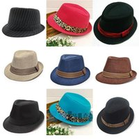Wholesale baby bucket hats for girls for sale - Group buy 2017 New Straw Cap Baby Hats Children Jazz Cap Bucket Hat Sun Summer Hat For Girls Boys Panama Photography Props