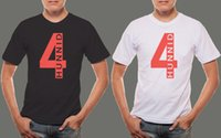 Wholesale records logos online - YG HUNNID RECORDS TRIPLE Logo Men s Black White T shirt