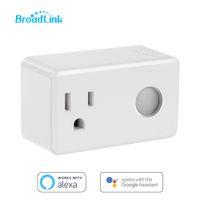 Wholesale broadlink switch resale online - Broadlink Sp3 Smart Plug Socket Eu Timer Switch Smart Home Controller Wifi Control Wireless Power Socket Plug For Alexa Google J190517