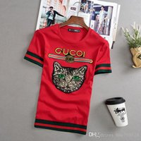 schnell li großhandel-Sommer neue Kurzarm - T - Shirt Fast - Hand - Red - Hander Li Yaoyang mit einem halben Geist des jungen Mannes kleines Hemd soziale Menschen