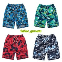 Wholesale large pocket cargo pants resale online – Brand New Fashion Mens Shorts Mens Beach Pants Loose Large Size Swimming Quick drying Pants Mens Designer Shorts