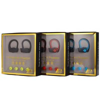doble real al por mayor-Bluetooth TWS W3 doble oído auricular inalámbrico bluetooth oreja colgando estéreo real 5.0 bajo colgando oreja auricular bluetooth coche