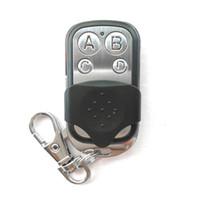 Wholesale garage remote control channel cloning resale online - Portable Wireless Mhz Remote Control Copy Code Remote Channel Electric Cloning Gate Garage Door Auto Keychain