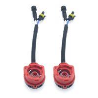 zócalo d2s al por mayor-2 unids Coche HID faro Socket Arnés de Cableado D2S D2S D2R D2C Adaptador Convertidor de Alambre Enchufe Conector Cable Base de Cable # 5995