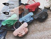monedero lindo barato al por mayor-Corea barato Niño Niños Niñas Lindo Pequeño Elefante Animal Mini Bolsos Bolso Messenger Bag Candy Coin Bolsos Monedero Bolso