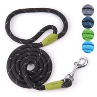 Wholesale reflective collars for dogs for sale - Group buy Pet Products Dog Leash for Small Large Dogs Leashes Reflective Dog Leash Rope Pets Lead Dog Collar Harness Nylon Running Leashes
