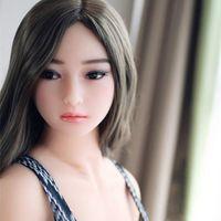 nuevas muñecas de los hombres del sexo al por mayor-2019 NUEVO 165cm de calidad superior real de silicona muñecas del sexo con el pecho grande muñeca realista del amor para los hombres japoneses sexo oral juguetes adultos del sexo