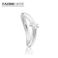 Wholesale wedding bears resale online - FAHMI Sterling Silver Exquisite Charming Bear Ring Women s Wedding Birthday Retro Simple Ring Gift
