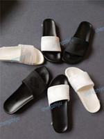 Wholesale new slippers sandals for sale - Group buy 2019 NEW Designer Slipper Gear Bottoms Mens Women Striped Sandals Causal Non slip summer huaraches slippers flip flops slipper With Box