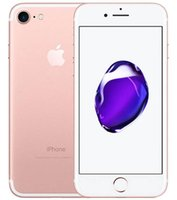 iş için cep telefonu toptan satış-Orijinal Apple iphone 7 7 Artı dokunmatik kimliği olmadan 32 GB 128 GB IOS12 12.0MP Ana Düğme Çalışma Yenilenmiş Unlocked Cep Telefonu