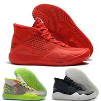 sapatos kd azul venda por atacado-kevin durant kd 12 Top Quality Zoom KD 12 XII mens tênis de basquete MVP Elite Aniversário da Universidade Vermelho Preto Verde Azul designer de sapatos mens formadores