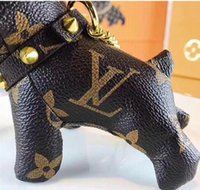 Wholesale french decorations for sale - Group buy 2019 Top Quality Hot New Arrvied Colors Dog Fashion girl Key Chain Chain Bag Decoration French Bulldog Keychains Bag Keychain without Box