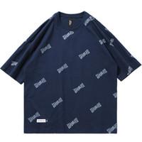 mens t shirt tam kollu toptan satış-2019 Yaz Erkek Hip Hop T Shirt Mektup Tam Baskı Harajuku Streetwear Tişört Pamuk Kısa Kollu Rahat T-Shirt HipHop Moda