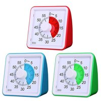 Wholesale countdown clock minutes for sale - Group buy 60 Minute Visual Timer Silent Time Management Tool For Classroom Conference Countdown For Children And Adults Table Clock