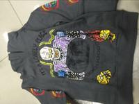 rua dos miúdos venda por atacado-Kanye West Temporada Xxxtentacion hoodies weatershirts Rapper Old School Manga Comprida Pulôver Tee Rua garoto ver fantasma Camisola navio livre 688