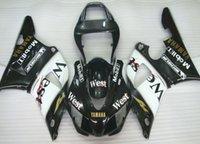 kits de carenado para 99 yamaha r1 al por mayor-3 regalos gratis Nuevos kits de carenado ABS aptos para YAMAHA YZF-R1 98 99 YZF1000 1998 1999 R1 carenados conjunto de carrocería personalizado West
