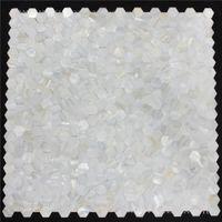 Hexagon Groutless Mother of pearl tile seamless pearl shell mosaic kitchen backsplash tile MOP125 bathroom shower wall tiles