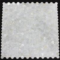 ingrosso cucina madreperla della perla madre-Piastrelle esagonali Groutless in madreperla senza soluzione di continuità conchiglia mosaico cucina backsplash piastrelle MOP125 piastrelle per bagno doccia