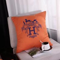 decoracion de almohadas al por mayor-Señalización de lujo Nueva llegada Cojín de almohada 45 * 45 cm Hogar sala de estar y dormitorio decoración cojín 2019 nuevo llega