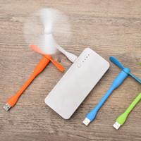 brinquedos android venda por atacado-Portátil Mini Ventilador USB por Telefone Celular Fã Android Fan Mais Frio Novidade Jogos Melhor presentes brinquedos ao ar livre gadgets ZZA289