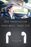 voyager kopfhörer groihandel-H1 Chip Umbenennungs GPS-Kopfhörer Air2 In-Ear Smart Sensor tws-Ohrhörer mit drahtlosen Ohrhörern w1 Chip PK i9s i12 i500 tws i200 i9000