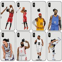 Wholesale iphone 6s plus basketball case online – custom Basketball Designer Luxury Phone Case for Iphone X XS XR Xs Max plus plus plus Top Quality Painted Cover