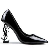 6f93613fa22 Wholesale sexy shoes resale online - black red Wedding Bridal Shoes Unique  Heels Brand Dress Shoes