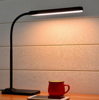 panel kitap ışığı toptan satış-USB Led Şarj Edilebilir Masa Lambası Göz Koruması Karartma Renk Üç Renkli Anahtarı Öğrenci Çalışma Okuma Masa Lambası