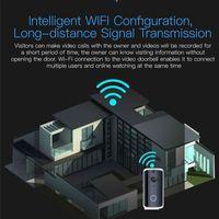 ingrosso sistema di telecamera porta wireless-M13 Smart Video Wireless WiFi Campanello per porte IR Sistema di sicurezza per videocamere