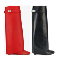 Wholesale high heeled long boots for sale - Group buy Long boots cowhide High heel boots luxury woman High shoes Designer Ladies shoes zipper Leather Fashion Bare boots Large size