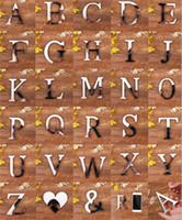 ingrosso autoadesivo della parete di amore 3d specchio-28 lettere inglesi amore cuore specchio acrilico superficie wall sticker 3d argento alfabeto camera da letto poster decorazione del partito diy murale di arte