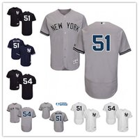 jerseys de mujer al por mayor-Custom Men's Women's Yankees 2 Derek Jeter 54 Aroldis Chapman
