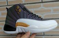 blaue stiefel größe 41 großhandel-2019 neue Männer klassische Designer 12 Monsoon Blue Basketballschuhe Sportschuhe XII Basketball Sneakers Größe 41-46