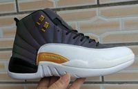 ingrosso stivali blu misura 41-2019 new Men classic designer 12 Monsoon Blue Scarpe da basket Stivali sportivi XII Sneakers da basket Taglia 41-46