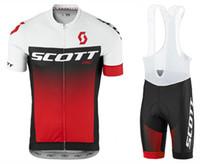 2018 Scott Cycling Jersey Sets Pro team Men Short Sleeve Mtb Cycling  Clothing Bicycle Bike 0fbff047c