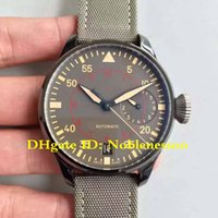 Wholesale Super ZF Factory Swiss CAL Movement Luxury Mens mm Pilots IW501902 Ceramic Days Power Reserve Watch Automatic Men s Watches