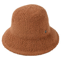 Wholesale loop yarns resale online - Women Hats Female Loop Yarn Letter M Bucket Hats Thick Warm Winter Solid Color Collapsible Bucket Hat Caps