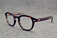 ingrosso occhiali da sole depp-Montature per occhiali johnny depp plank montatura per occhiali fotogramma per restauri antichi oculos de grau per uomo e donna miopia montature per occhiali