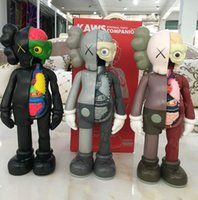 crianças sexy japonesas venda por atacado-8 Cor KAWS Companheiro Dissecado figuras de ação brinquedo 2019 Novo 37 CM (14.6 Polegada) crianças Kaws brinquedos B